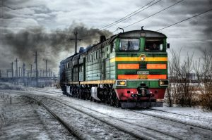 Condition monitoring diesel locomotive