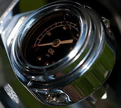 Olie levensduur bepaald door olietemperatuur